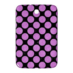 Circles2 Black Marble & Purple Colored Pencil (r) Samsung Galaxy Note 8 0 N5100 Hardshell Case  by trendistuff