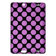 Circles2 Black Marble & Purple Colored Pencil (r) Amazon Kindle Fire Hd (2013) Hardshell Case by trendistuff