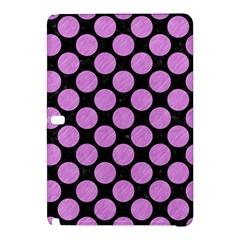 Circles2 Black Marble & Purple Colored Pencil (r) Samsung Galaxy Tab Pro 12 2 Hardshell Case by trendistuff