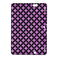 Circles3 Black Marble & Purple Colored Pencil Kindle Fire Hdx 8 9  Hardshell Case by trendistuff