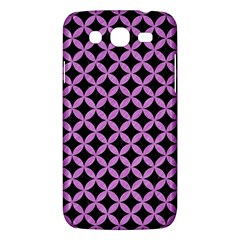 Circles3 Black Marble & Purple Colored Pencil (r) Samsung Galaxy Mega 5 8 I9152 Hardshell Case  by trendistuff