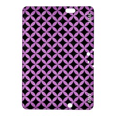 Circles3 Black Marble & Purple Colored Pencil (r) Kindle Fire Hdx 8 9  Hardshell Case by trendistuff