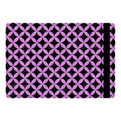 Circles3 Black Marble & Purple Colored Pencil (r) Apple Ipad Pro 10 5   Flip Case by trendistuff