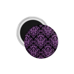 Damask1 Black Marble & Purple Colored Pencil (r) 1 75  Magnets by trendistuff