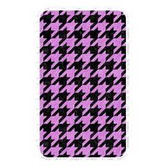 Houndstooth1 Black Marble & Purple Colored Pencil Memory Card Reader by trendistuff