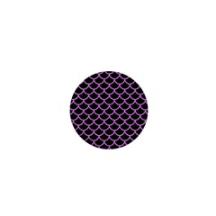 Scales1 Black Marble & Purple Colored Pencil (r) 1  Mini Magnets by trendistuff