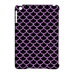 Scales1 Black Marble & Purple Colored Pencil (r) Apple Ipad Mini Hardshell Case (compatible With Smart Cover) by trendistuff