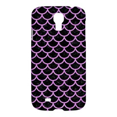 Scales1 Black Marble & Purple Colored Pencil (r) Samsung Galaxy S4 I9500/i9505 Hardshell Case by trendistuff