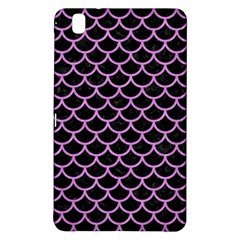 Scales1 Black Marble & Purple Colored Pencil (r) Samsung Galaxy Tab Pro 8 4 Hardshell Case by trendistuff