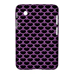 Scales3 Black Marble & Purple Colored Pencil (r) Samsung Galaxy Tab 2 (7 ) P3100 Hardshell Case  by trendistuff