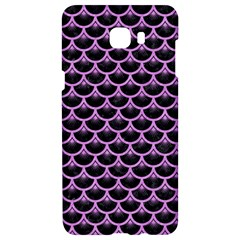 Scales3 Black Marble & Purple Colored Pencil (r) Samsung C9 Pro Hardshell Case  by trendistuff