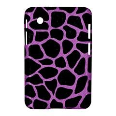 Skin1 Black Marble & Purple Colored Pencil Samsung Galaxy Tab 2 (7 ) P3100 Hardshell Case  by trendistuff
