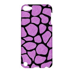 Skin1 Black Marble & Purple Colored Pencil (r) Apple Ipod Touch 5 Hardshell Case by trendistuff