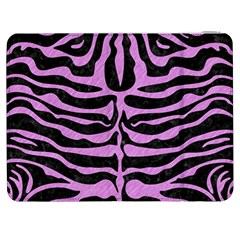 Skin2 Black Marble & Purple Colored Pencil (r) Samsung Galaxy Tab 7  P1000 Flip Case by trendistuff