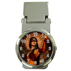Wonderful Fantasy Women With Mask Money Clip Watches by FantasyWorld7