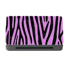 Skin4 Black Marble & Purple Colored Pencil (r) Memory Card Reader With Cf by trendistuff