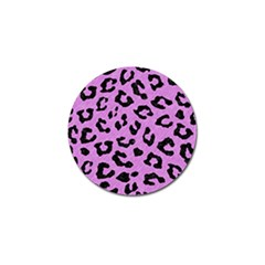 Skin5 Black Marble & Purple Colored Pencil (r) Golf Ball Marker (4 Pack) by trendistuff