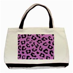 Skin5 Black Marble & Purple Colored Pencil (r) Basic Tote Bag by trendistuff