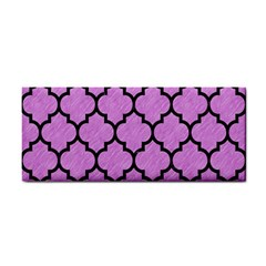Tile1 Black Marble & Purple Colored Pencil Cosmetic Storage Cases by trendistuff