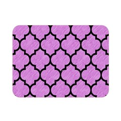 Tile1 Black Marble & Purple Colored Pencil Double Sided Flano Blanket (mini)  by trendistuff