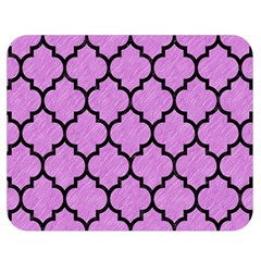 Tile1 Black Marble & Purple Colored Pencil Double Sided Flano Blanket (medium)  by trendistuff