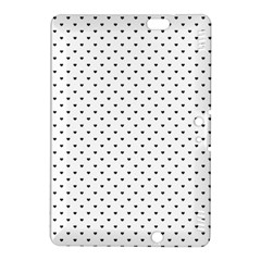 Classic Black Polka Dot Hearts Magic Color Swop Kindle Fire Hdx 8 9  Hardshell Case by Beachlux