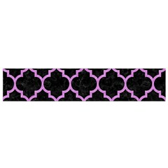 Tile1 Black Marble & Purple Colored Pencil (r) Flano Scarf (small) by trendistuff