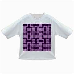 Woven1 Black Marble & Purple Colored Pencil Infant/toddler T Shirts