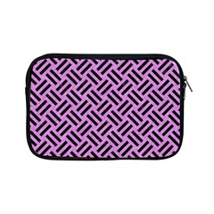Woven2 Black Marble & Purple Colored Pencil Apple Ipad Mini Zipper Cases by trendistuff