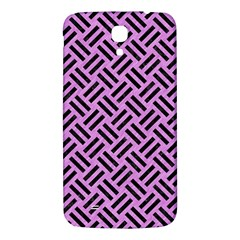 Woven2 Black Marble & Purple Colored Pencil Samsung Galaxy Mega I9200 Hardshell Back Case by trendistuff