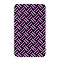 Woven2 Black Marble & Purple Colored Pencil (r) Memory Card Reader by trendistuff