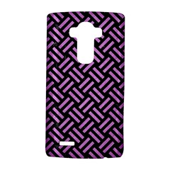 Woven2 Black Marble & Purple Colored Pencil (r) Lg G4 Hardshell Case by trendistuff