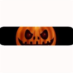 Halloween Pumpkin Large Bar Mats by Valentinaart