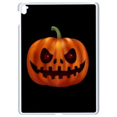 Halloween Pumpkin Apple Ipad Pro 9 7   White Seamless Case by Valentinaart