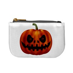 Halloween Pumpkin Mini Coin Purses by Valentinaart