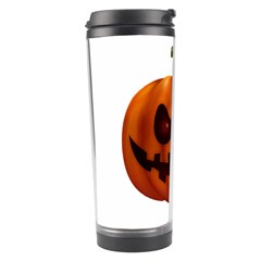 Halloween Pumpkin Travel Tumbler by Valentinaart