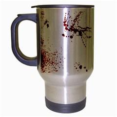 Massacre  Travel Mug (silver Gray) by Valentinaart
