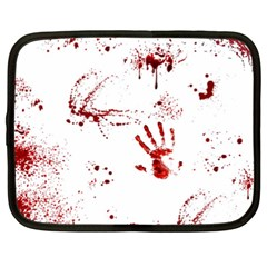 Massacre  Netbook Case (xxl)  by Valentinaart