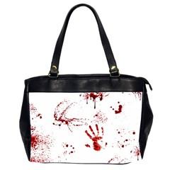 Massacre  Office Handbags (2 Sides)  by Valentinaart