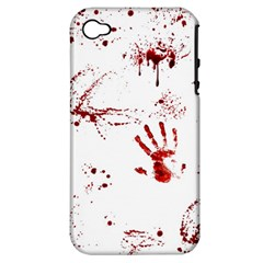 Massacre  Apple Iphone 4/4s Hardshell Case (pc+silicone) by Valentinaart