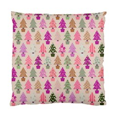 Christmas Tree Pattern Standard Cushion Case (one Side) by Valentinaart