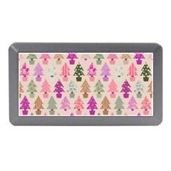 Christmas Tree Pattern Memory Card Reader (mini) by Valentinaart