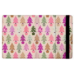 Christmas Tree Pattern Apple Ipad 3/4 Flip Case by Valentinaart