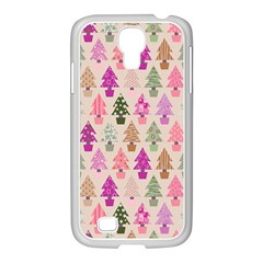 Christmas Tree Pattern Samsung Galaxy S4 I9500/ I9505 Case (white)