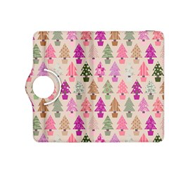 Christmas Tree Pattern Kindle Fire Hdx 8 9  Flip 360 Case by Valentinaart