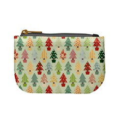 Christmas Tree Pattern Mini Coin Purses by Valentinaart