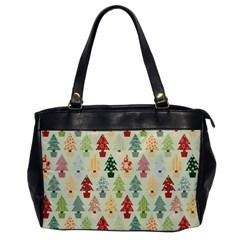 Christmas Tree Pattern Office Handbags by Valentinaart