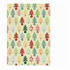 Christmas Tree Pattern Large Garden Flag (two Sides) by Valentinaart