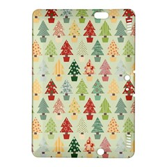 Christmas Tree Pattern Kindle Fire Hdx 8 9  Hardshell Case by Valentinaart