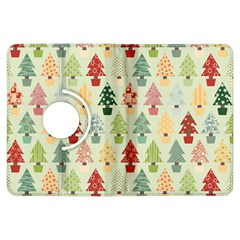 Christmas Tree Pattern Kindle Fire Hdx Flip 360 Case by Valentinaart